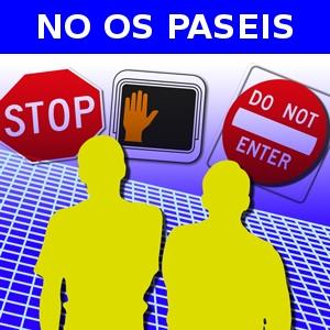 NO OS PASÉIS