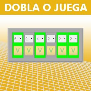 DOBLA O JUEGA