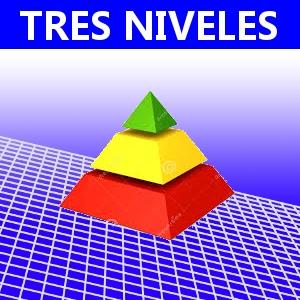 TRES NIVELES