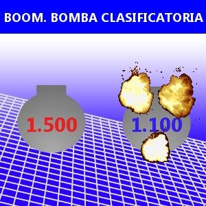 BOOM. BOMBA CLASIFICATORIA
