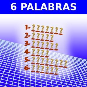 6 PALABRAS