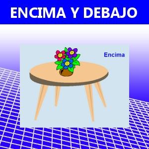ENCIMA Y DEBAJO