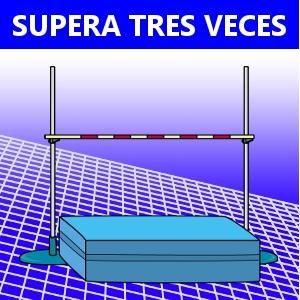 SUPERA TRES VECES