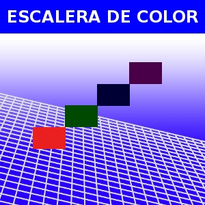 ESCALERA DE COLOR