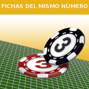 FICHAS DEL MISMO NÚMERO