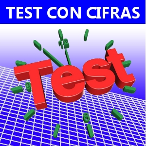 TEST CON CIFRAS