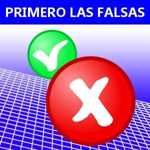 PRIMERO LAS FALSAS