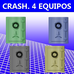 CRASH. 4 EQUIPOS