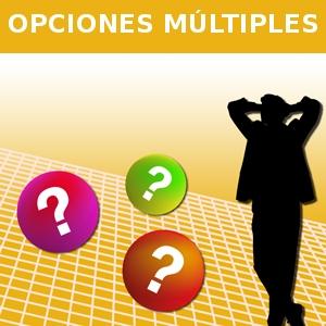 OPCIONES MÚLTIPLES