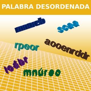 PALABRA DESORDENADA
